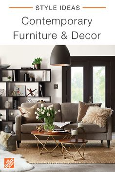 Furniture - The Home Depot Living Room Styles, Living Room Colors, New Living Room, My New Room, Home And Living, Living Room Designs, Living Room Furniture, Living Room Decor, Home And Deco