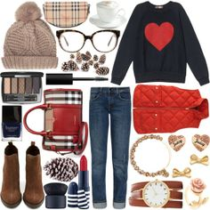 """FALL to WINTER: Rockefeller Center Tree Lighting ❆"" by earlofgreytea on Polyvore"