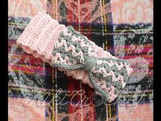 Crochet Headband Tutorial, Headband Pattern, Crochet Baby Cardigan, Crochet Table Runner, Lion Brand Yarn, Crochet Gifts, Crochet For Kids, Gifts For Girls, Arm Warmers