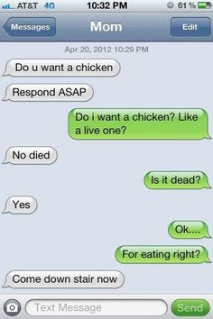 And make you question the meaning of life and death on the regular. | 25 Texts That Will Make You Appreciate Your Mom