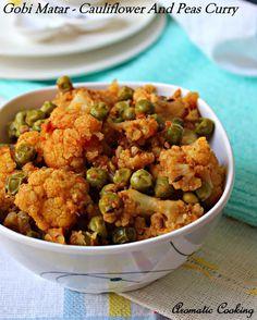 Gobi Matar/ Cauliflower And Peas Curry