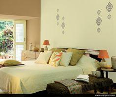 Simple and stylish! Unassumingly functional yet effortlessly elegant! #BookOfColours2016 #bedroom #decor #interiors #decorideas #interiorstyling #interiordesign #inspiration#homedecorguide