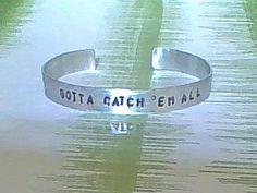 bracelet gamer bracelet gotta catch em all by ragequitgifts