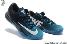 best service 906f4 2988b Buy 2013 New Kobe 8 System MC Mambacurial FB Blue Sapphire Black White Shoes  Store Nike