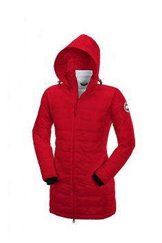Camp Hooded Jacket Women Red #womenswear #giftideas