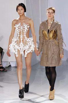 The Incredible, Bizarre and Wonderful Fashions of Iris van Herpen