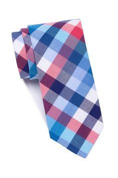 5491a01ed39b Weiske Plaid Skinny Tie by Original Penguin on @nordstrom_rack Skinny Ties,  Penguins, Nordstrom