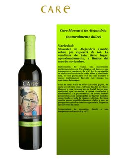 Care Moscatel deAlejandria  D.O Cariñena. Bodega Añadas