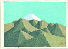Mount Fuji -2 - Umetaro Azechi - 1902-1999