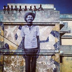 JR + josé parlá: wrinkles of the city project in havana, cuba
