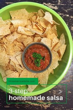 Easy Roasted Tomato Salsa