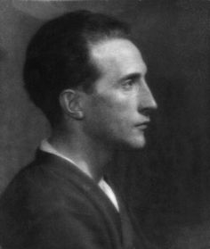Marcel Duchamp, 1915 by Man Ray.