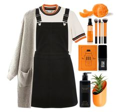 """p e r f e c t."" by credendovides ❤ liked on Polyvore featuring Monki, Oasis, Wallter, shu uemura, JINsoon and Victoria's Secret"