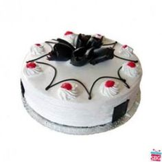 Send White Forest Cake From 5 Star Online In India On Best Rates Same Day Delivery