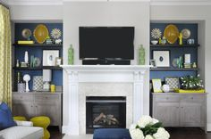 Fireplace is a prominent decor element to complete your living room layout. Designing your winter living room decor with fireplace leads to various amazing options for making your space comfortable … Winter Living Room, Living Room Orange, Living Room Colors, Home Living Room, Living Room Designs, Living Room Decor, Dining Room, Living Spaces, Transitional Living Rooms