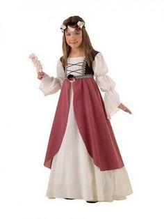 "medieval dress for my princess ""flower girl"""