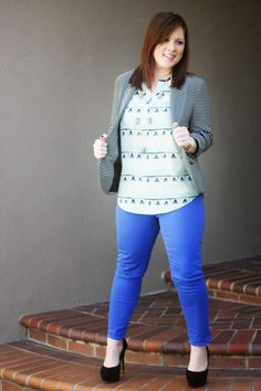 Mixing patterns and colors with @stitchfix