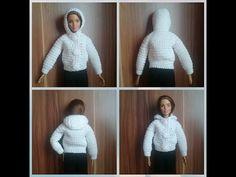 Куртка для Барби крючком.. Обсуждение на LiveInternet - Российский Сервис Онлайн-Дневников
