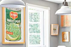 Warm up your cooking space with art inspired by the contents of your pantry. Get this look by framing vintage produce-label posters, $15 each; vintagraph.com