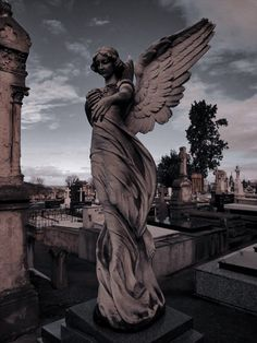 Cemetery Angels, Cemetery Statues, Cemetery Art, Statue Ange, Greek Statues, Buddha Statues, Stone Statues, Old Cemeteries, Graveyards