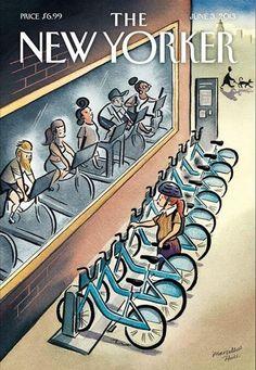 Le Vélib' made in NY | DailyELLE