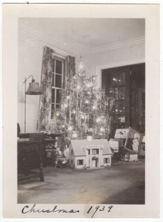 """1939 I think this family RICH look at the doll house I would love to have had one even though I was a tomboy because I had a twin brother """"Bud"""".  Ellie Hamm"""