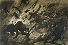 Art Quotidien, Historical Fiction, World War I, Light And Shadow, First World, Art Reference, Storytelling, Moose Art, 1914 1918