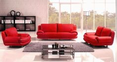 """3pc Contemporary Modern Leather Sofa Set #AM-766-R by UTM. Save 47 Off!. $1899.00. All corners are """" blocked"""", nailed and glued for strength and durability. It is made of 100% selected premium soft bonded leather.. Solid wood frame use in the sofa construction. UTM 3 pcs contemporary modern leather sofa set will include ONE sofa + ONE love + ONE CHAIR. All of the seats and backs are high density (1.9) foam to give comfort and support. Available Colors See above picture,BLACK, I..."""