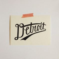 YYEAHHHHHHHH!!!! featherstonemoonandivorybone:  in honor of miguel cabrera clinching the triple crown….a little Detroit love.