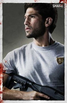 Walking Dead Shane... I know who I would want on my side in a zombie apocalypse.