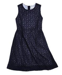 Sleeveless Floral Tulle Dress - Brooks Brothers