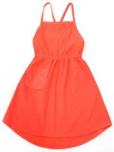inspiration. coral dress