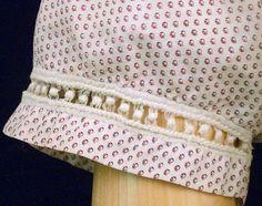 mary's 19th century clothing: 1800-1819