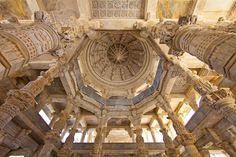 Jain Temple ~ Ranakpur, Rajasthan, India (Photo by Jim Zuckerman)