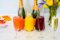 3 Steps to Conquering Your Unforgettable Mimosa Bar | http://timelesstasteblog.com | #MimosaBar #TimelessTaste #Entertaining