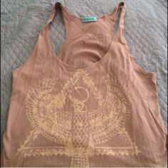 Crop top tank. Reposh  didn't know it was a crop and I don't wear them. In excellent shape. Workshop Tops Crop Tops