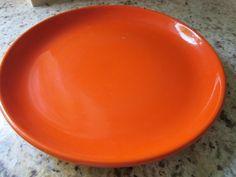 "California pottery Padre 15"" chop plate #108"