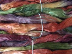Tencel roving for spinning  Old Brass 1 oz.  by robinjedmundson, $6.00