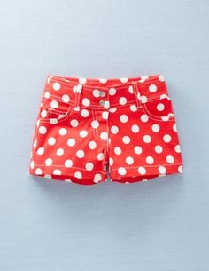 Cute shorts for the girls to wear with their Minnie shirts!