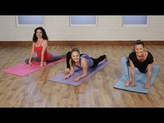 5-Minute Yoga Stretch Routine to Work Up to the Splits | Class FitSugar - YouTube