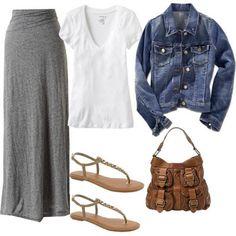 LOLO Moda: Stylish long skirts for women