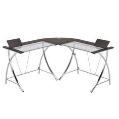 ORE International 5.3 ft. W Modern Computer Desk-NPD-1701 - The Home Depot