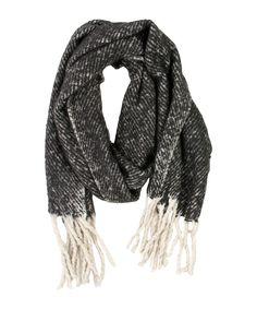 Wool & Viscose Scarf - Jenterommet Wool, Fashion, Moda, Fashion Styles, Fashion Illustrations