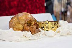 Sankt Eriks skalle och krona