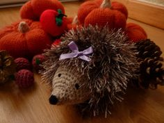 PDF version Meet Heidi Hedgehog. A very stylish and friendly hedgehog, and unbelievably cute. Several months ago I had been given ...
