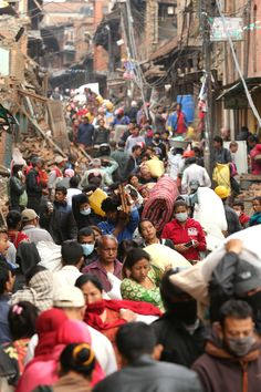 Nepal Earthquake Pictures Show Sheer Apocalyptic Devastation From Epicenter
