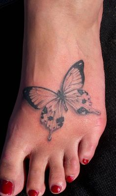 Butterfly tatoo- this is one consideration i have for a tatoo