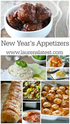 New Year's Appetizers... these aren't your everyday appetizers!