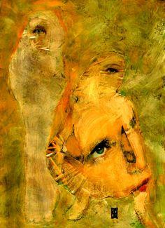 57-Cris Acqua Collagemania.    Pintura mixta collage.  www.crisacqua.com
