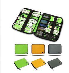 Digital accessories finishing bag data charger cable storage box storage bag mp3 earphones usb flash drive finishing bag